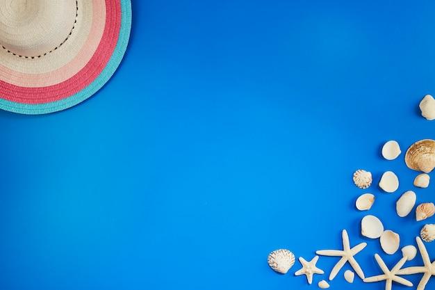 Rahmen urlaub und sommer banner