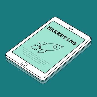 Raketenstart-raumschiff-icon-innovation