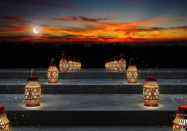 Ramadan kareem laternen.