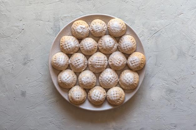 Ramadan süßigkeiten. ägyptische kekse