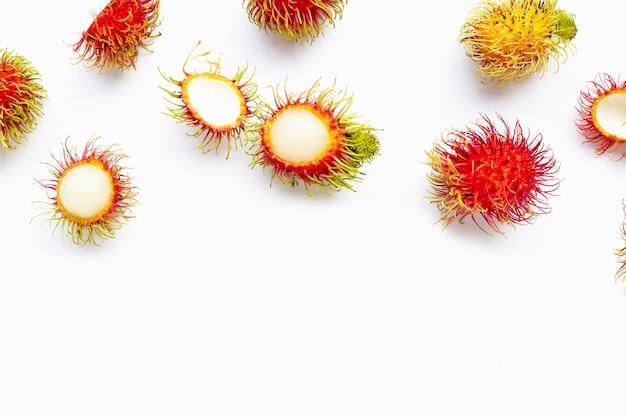 Rambutan isoliert