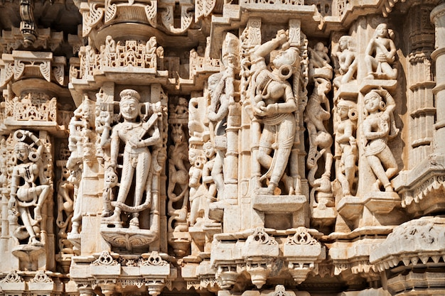 Ranakpur tempel in indien