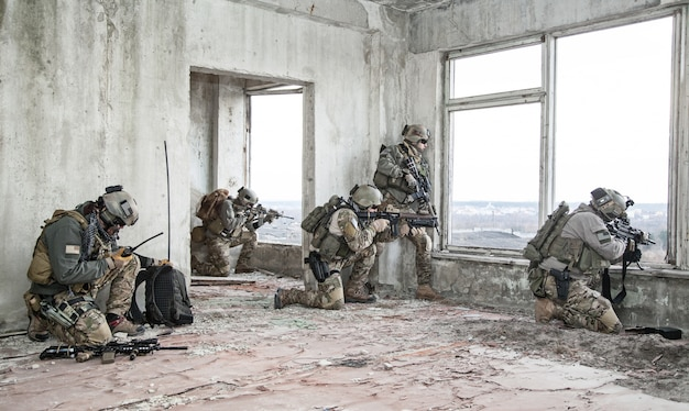 Rangers in aktion