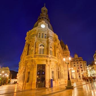 Rathaus muruntamiento de cartagena murcia spanien