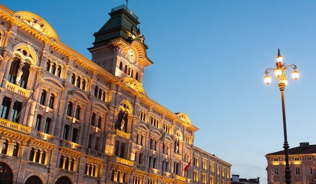 Rathausgebäude, triest