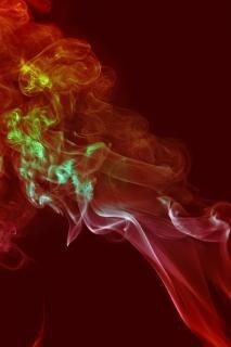 Rauch-, durchfluss-, effekt