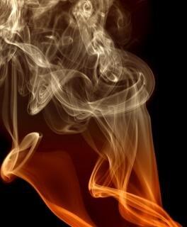 Rauch-, effekt-, bewegungs-