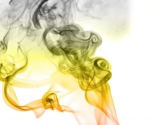 Rauch-, effekt, glatt