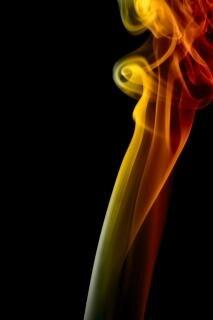 Rauch, geruch, abstrakt