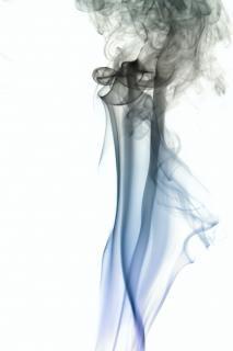 Rauch, glatt, effekt-, durchfluss