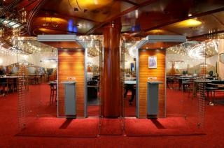 Rauch kabinen in den casinos