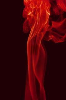 Rauch, rauch, aromatherapie, rot