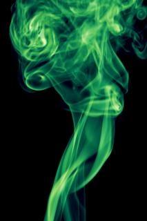 Rauchen dynamische strömungsdrall