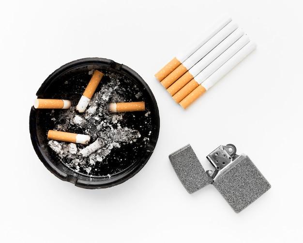 Rauchen ist eine ungesunde botschaft