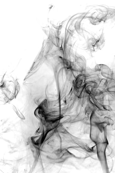 Rauchen sie giftige bewegung auf einem weißen hintergrund.