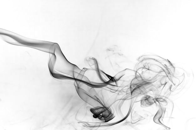 Rauchen sie giftige bewegung auf einer weißen oberfläche.
