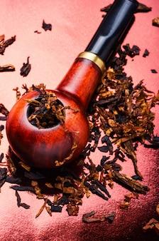 Raucher tabakpfeife
