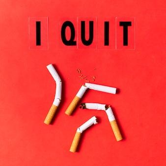 Raucherentwöhnungskonzept