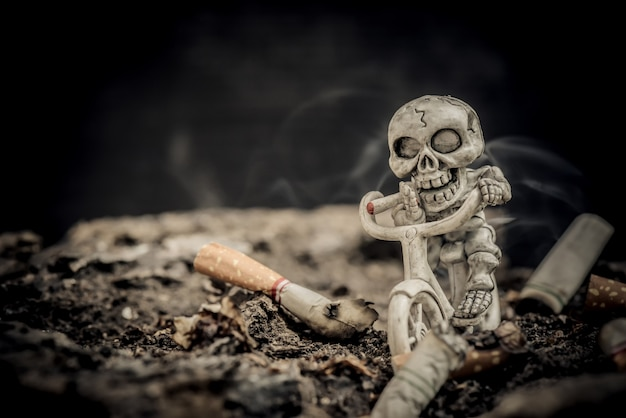 Rauchverbot und rauchstopp zum weltnichtrauchertag.
