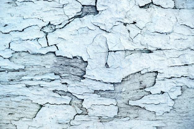 Rauer beschaffenheits-hintergrund, hölzerne gealterte und schmutz-oberfläche in der weißen blauen farbe