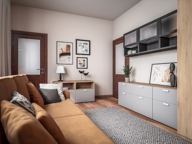 Raum der architektur-3d
