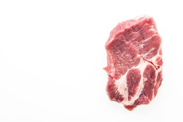 Raw schweinefleisch isoliert