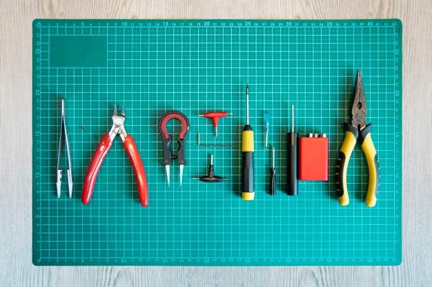 Rda oder coil bauen werkzeuge zum dampfen.