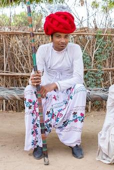Rebari, landbevölkerung von rajasthan, indien