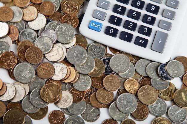 Rechner und geld