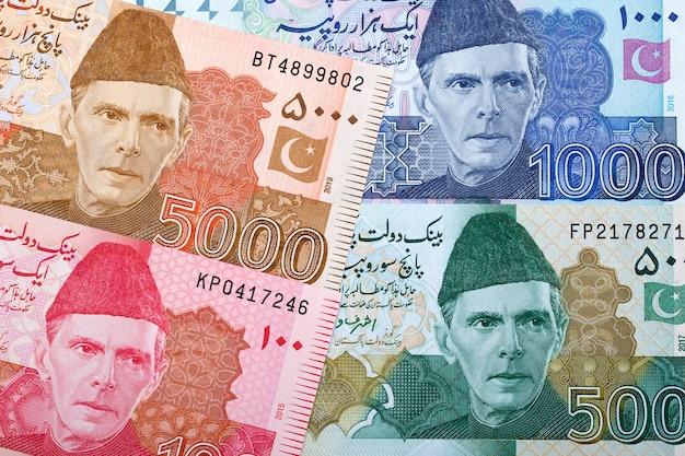 Rechnung der pakistanischen rupie