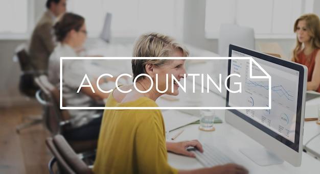 Rechnungswesen banking finance income profit konzept