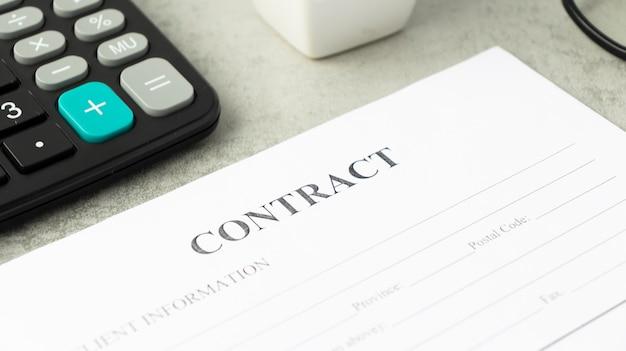 Rechtsgültige vertragsunterzeichnung - kaufvertrag immobilienkauf