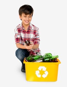 Recyceln sie globale umweltverträglichkeitslösungen