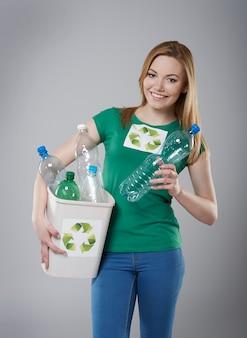 Recycling kann die welt vor katastrophen schützen