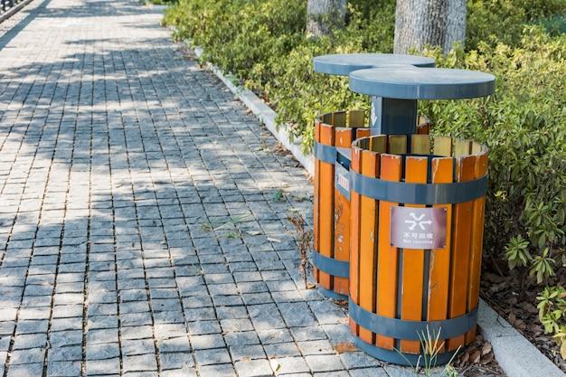 Recycling-park zusammen kappenfarbe