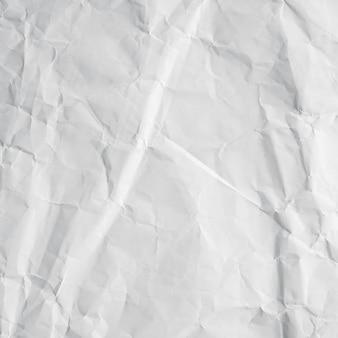 Recyclingpapier aus weißen falten