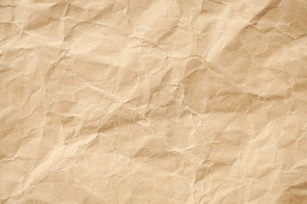 Recyclingpapiermuster der braunen falten