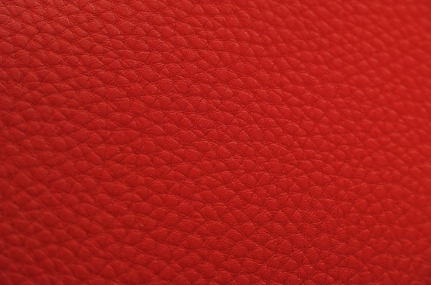 Red leder textur