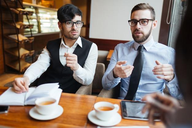 Rede von unternehmern