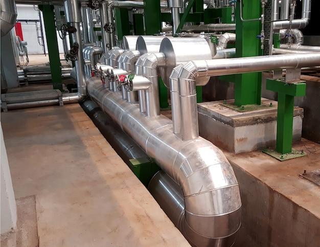 Regelventil dampfrohrisolierung für kraftwerksdampfturbine