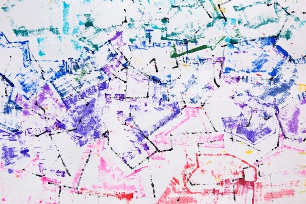 Regenbogen farbverlauf bunter hintergrund abstrakte grunge-marker-textur