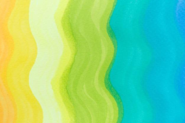 Regenbogen-gradientenwelle meer hintergrund. leichte marker-textur.