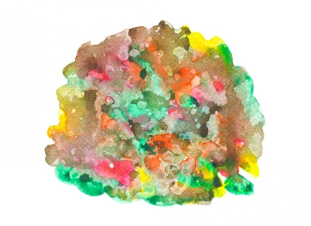 Regenbogenaquarellfarbe mit buntem hintergrundbeschaffenheitsdesign