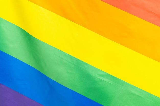 Regenbogenfahne, symbol des lgbt-stolzmonats.