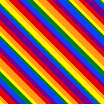 Regenbogenmuster gestreifte linie geometrisch für design