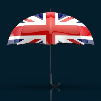 Regenschirmkonzept - 3d-illustration