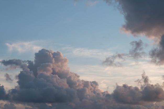 Regenwolken bilden sich