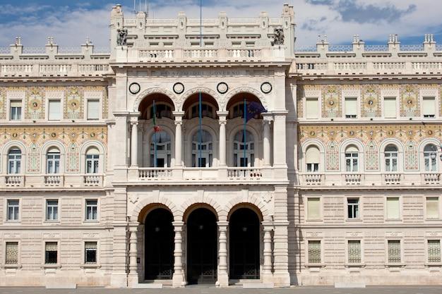 Regierungsgebäude in triest