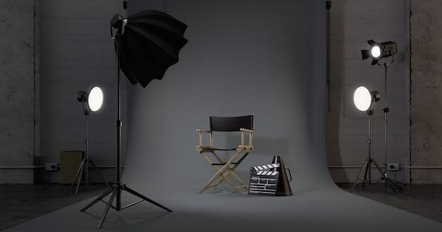 Regiestuhl im studio