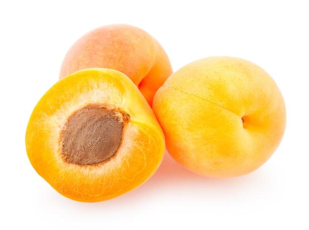 Reife aprikosen